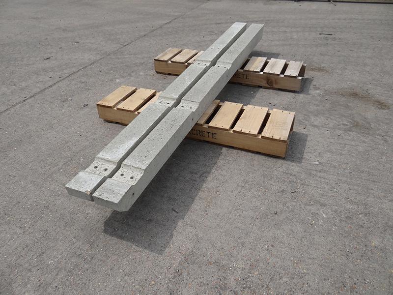 Recessed Fence Posts Allen Concrete
