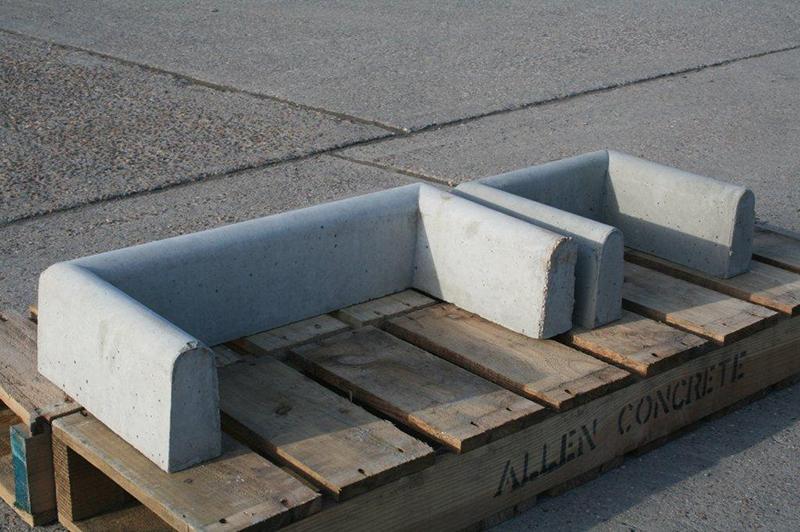 Concrete Gully Surrounds Water Drainage Allen Concrete