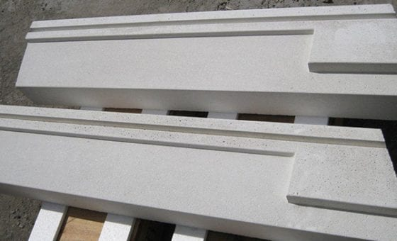 Ornamental Precast Concrete Window Sills