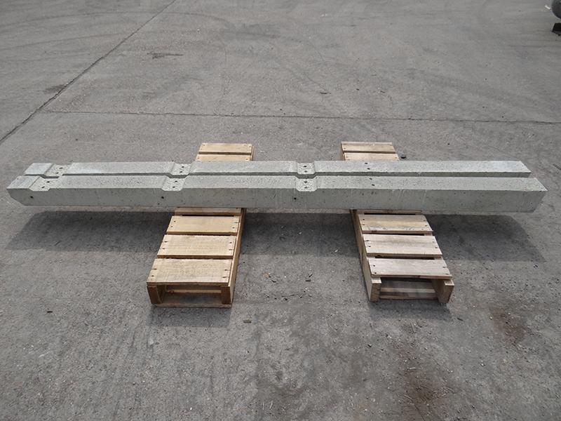 Concrete Recessed Fence Posts Precast Concrete Allen