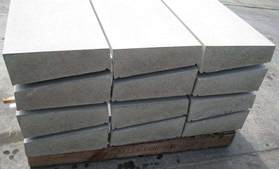 Ornamental Precast Concrete Coping