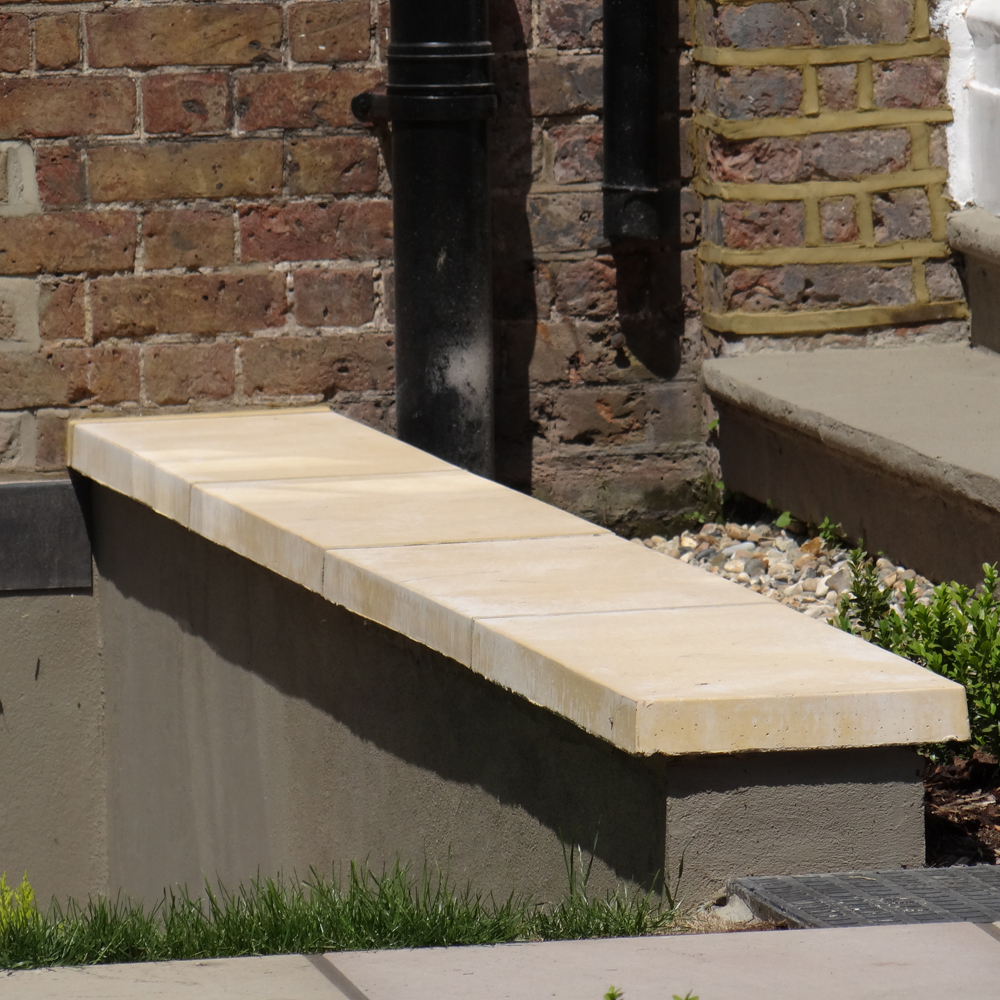 Flat Coping Concrete Stones Protect Your Brick Walling