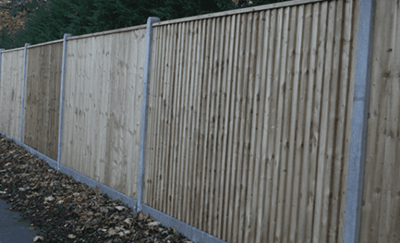 Morticed Fence Posts
