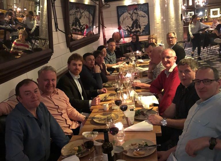 Allen Concrete reward staff with a night out in London