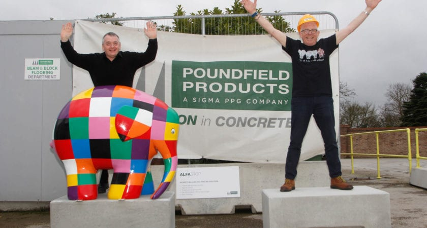 Poundfield supports Elmer's Big Parade