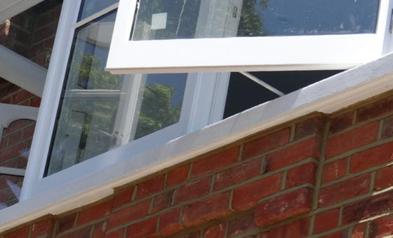 The different types of concrete window sills